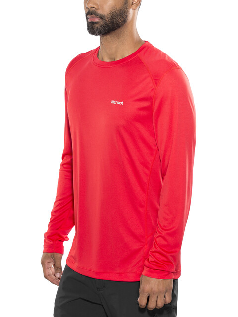 Marmot M's Windridge LS Shirt Tomato
